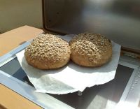 Brotbacken mit dem Hochleistungssolargrill & Herd  A48WSC4ALL